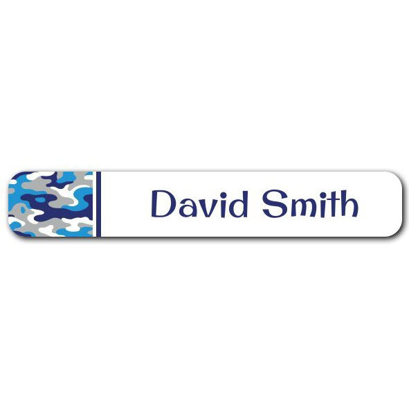 Camo Mini Name Labels 78pk (Temporary Out of Stock)