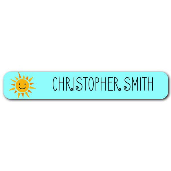 Sunshine Mini Name Labels 78pk (Temporary Out of Stock)