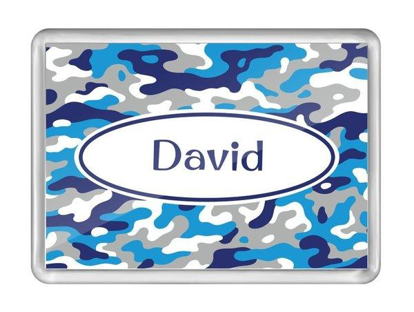 Camo Fridge Magnet