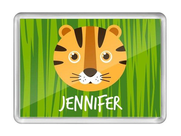Tiger Fridge Magnet
