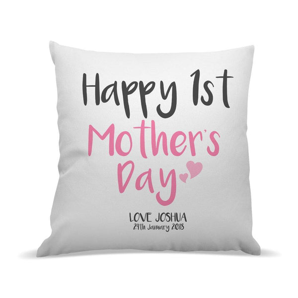1st Mother's Day Premium Cushion Cover