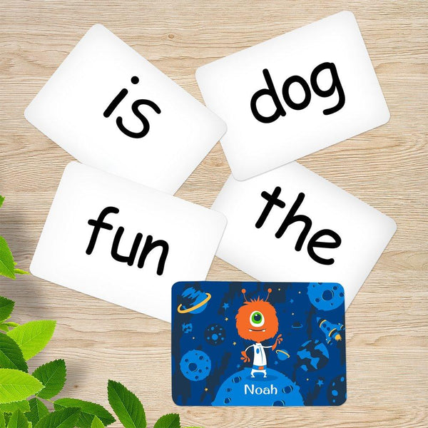 Space Sight Word Cards