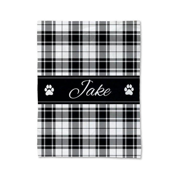 Tartan Pet Blanket - Medium