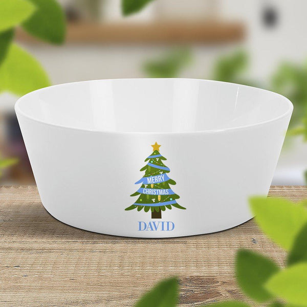Blue Christmas Kids' Bowl