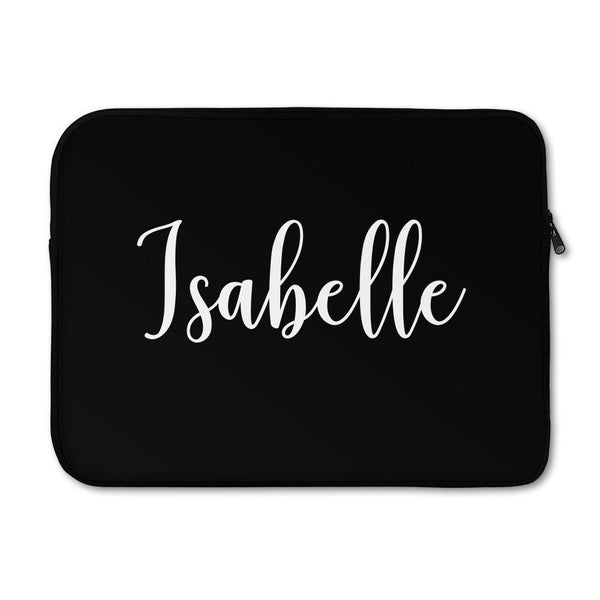 Black Laptop Sleeve - Large