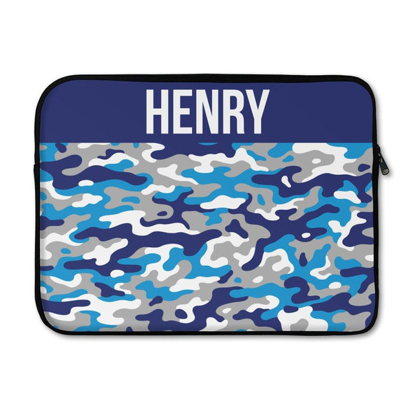 Camo Laptop Sleeve - Large