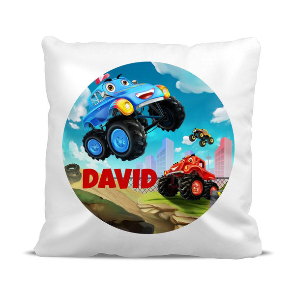 Monster Truck Classic Cushion Cover