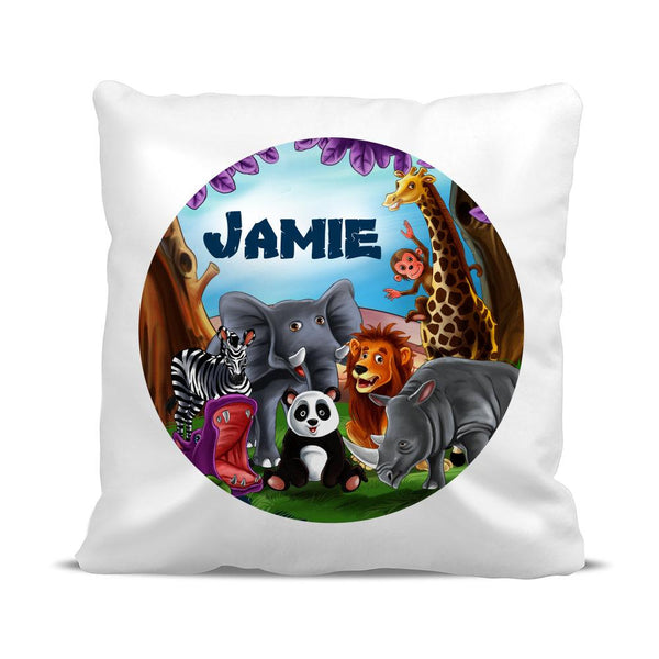 Visits the Zoo Classic Cushion Cover