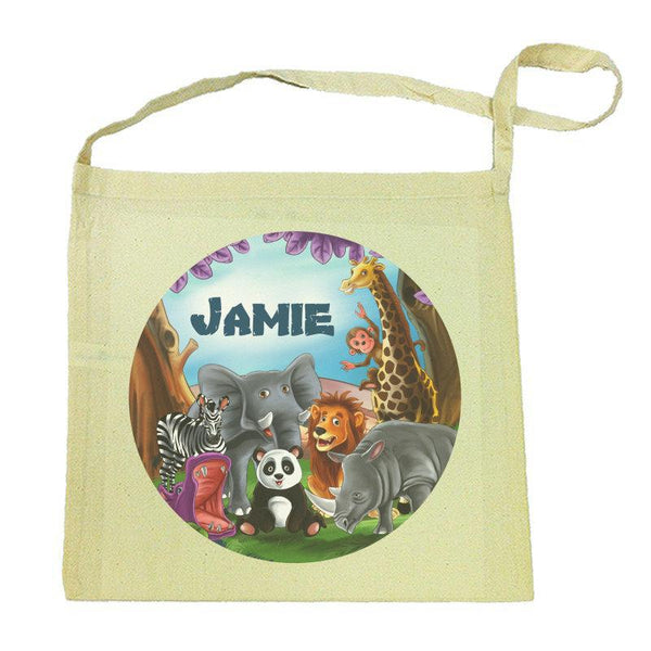 Visits the Zoo Calico Tote Bag