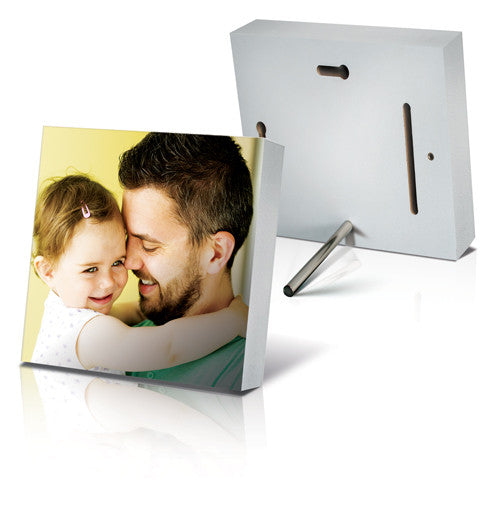 "10x10"" (25x25cm) Photo Block White - Square"