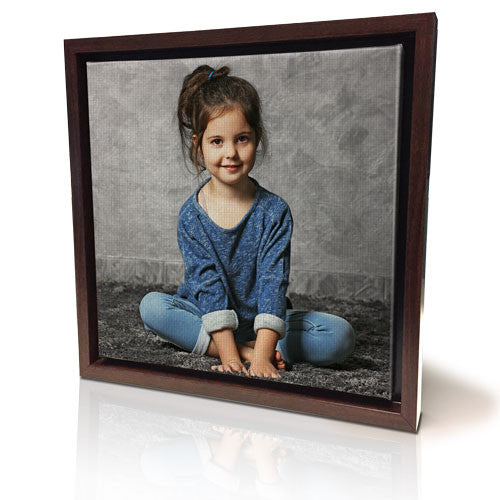 "12 x 12"" (30x30cm) Framed Canvas (Black Frame Temp Out of Stock)"