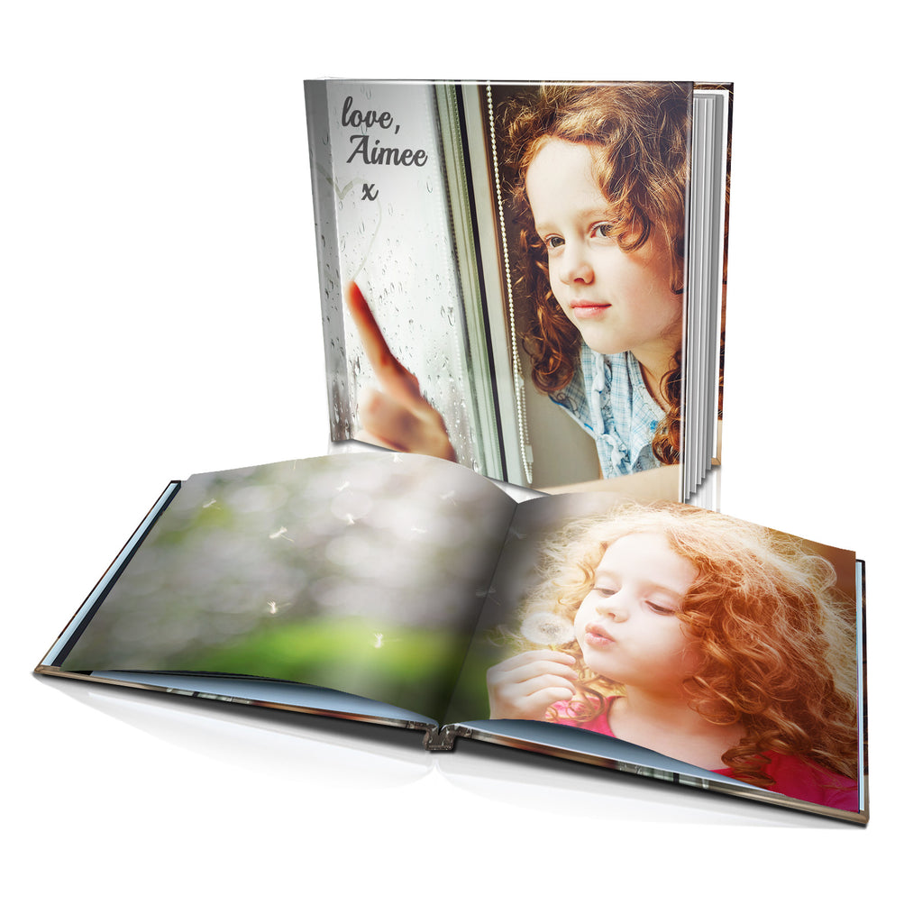 "8x8"" Personalised Hard Cover Book"