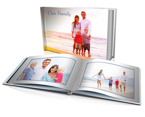 "12x16"" Personalised Hard Cover Book"