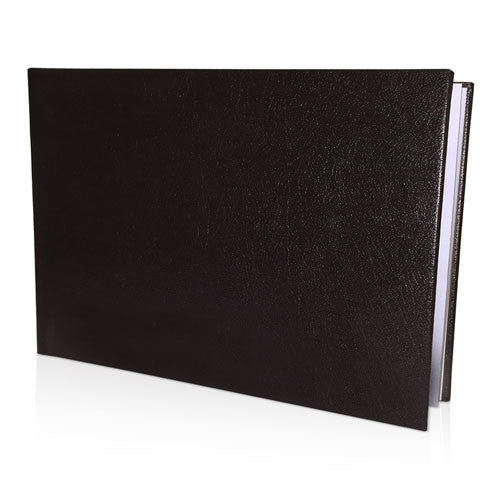 "12x16"" Leather Look Padded Hard Cover Book in Presentation Box"
