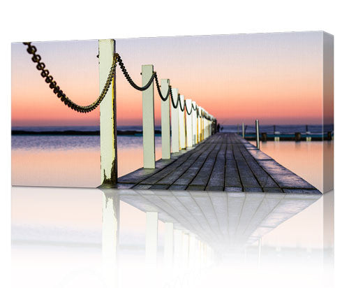 "12 x 24"" (30x60cm) Panoramic Canvas Print"
