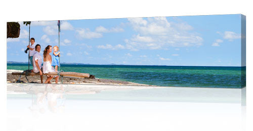 "12 x 40"" (30x100cm) Panoramic Canvas Print"