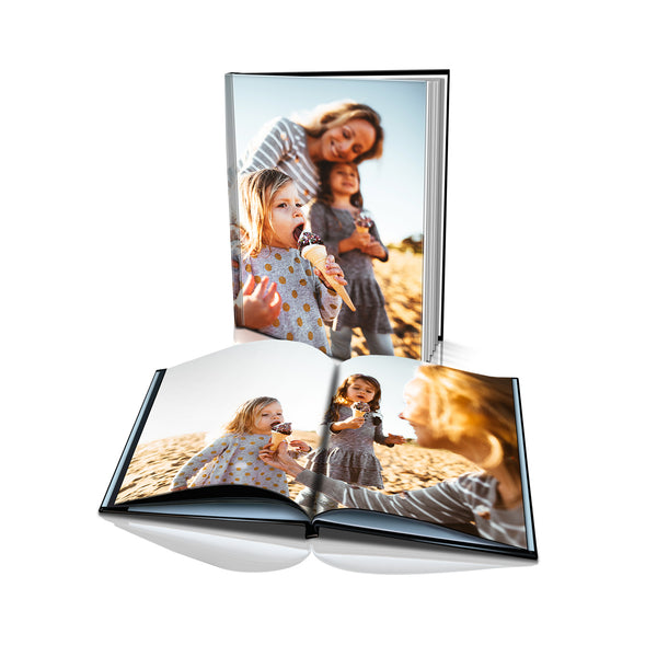 "16x12"" Portrait Personalised Hard Cover Book"