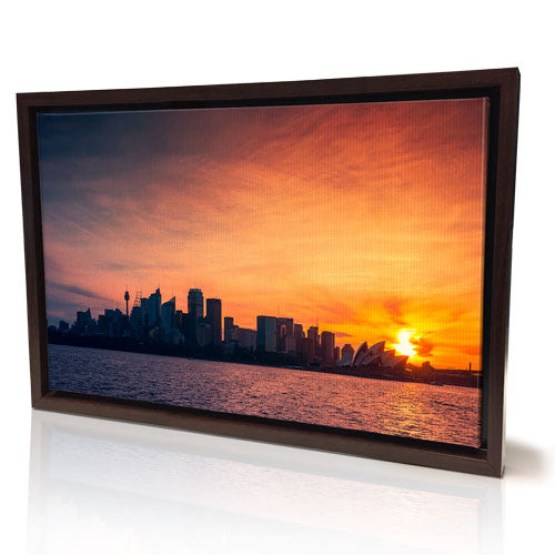 "20 x 30"" (50x75cm) Framed Canvas Print (White Temporary Out Of Stock)"