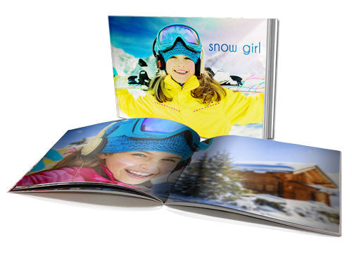 "4x5.3"" Personalised Soft Cover Book (22 Pages)"