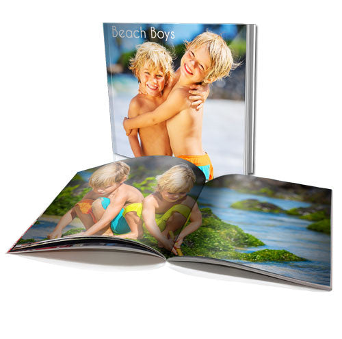 "6x6"" Personalised Soft Cover Book (22 Pages)"