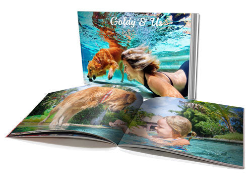 "6x8"" Personalised Soft Cover Book (40 Pages)"