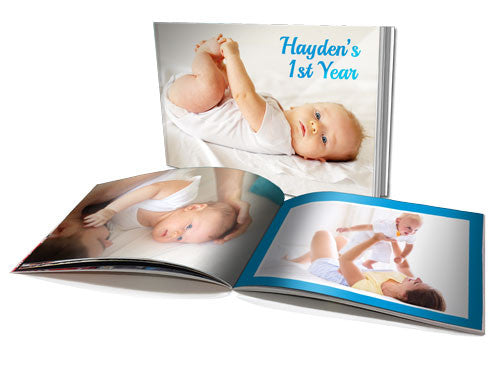 "6x8"" Personalised Soft Cover Book (60 Pages)"