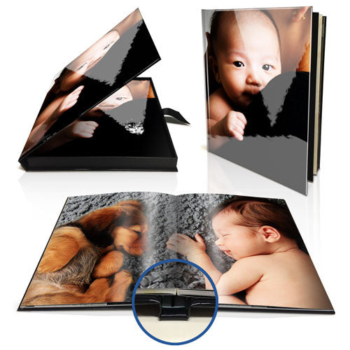 "11x8"" Premium Layflat Photo Book (Portrait) in Presentation Box"