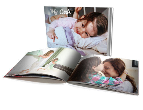 8x11 personalised soft cover book 60 pages