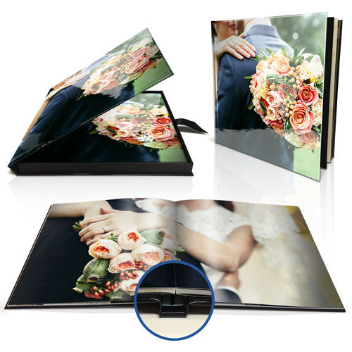 "8x8"" Premium Layflat Photo Book in Presentation Box"