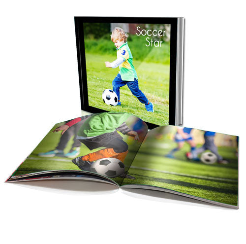 "8x8"" Personalised Soft Cover Book (60 pages)"