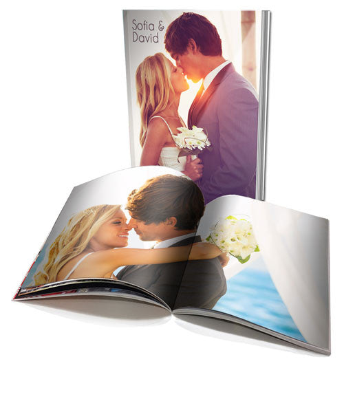 A4 Personalised Soft Cover Book - 20 pages