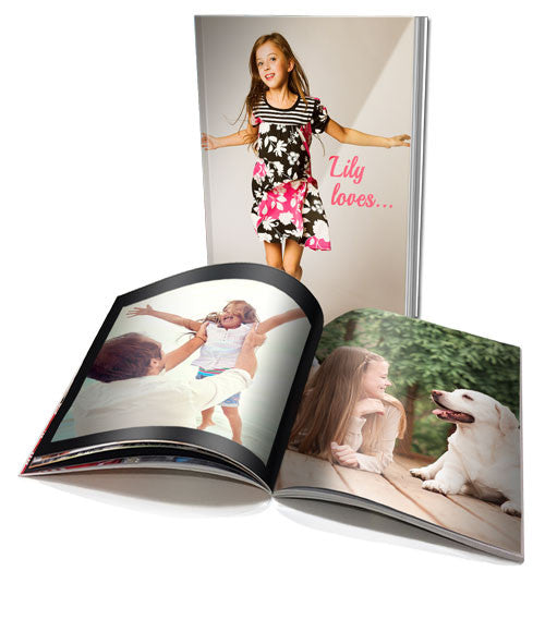 A4 Personalised Soft Cover Book - 60 pages