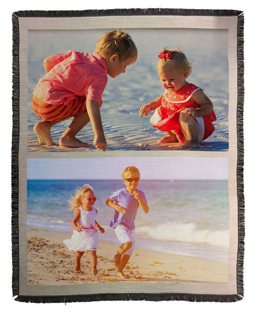 "Throw Blanket with Tassels 137x174cm (54x68"")"