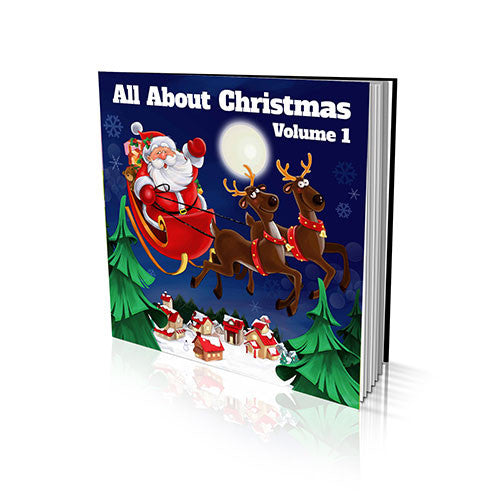 Hard Cover Story Book - All About Christmas Volume I