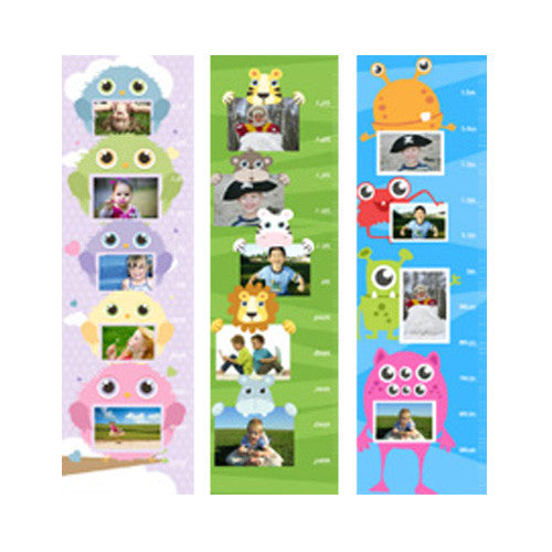 Canvas Photo Growth Chart & Sticker Pack