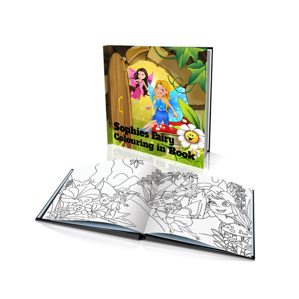 The Fairies Soft Cover Colouring Book