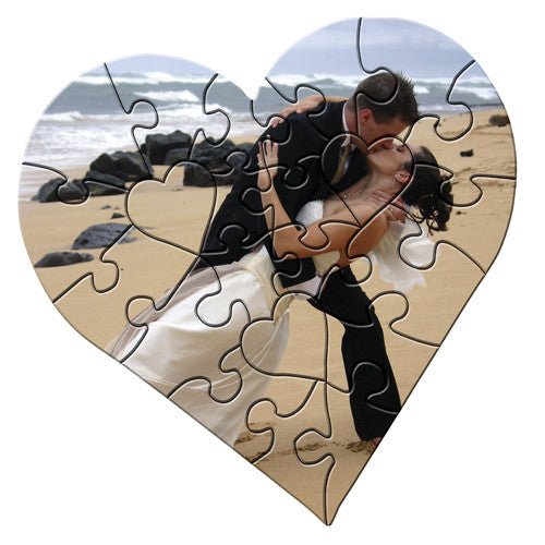 Heart Photo Puzzle 23 pieces