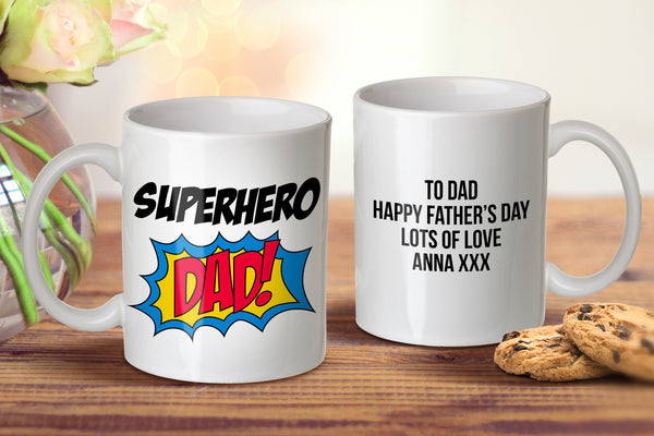 Superhero Dad Mug