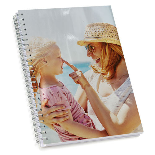 Spiral Notebook - 200 Blank Pages