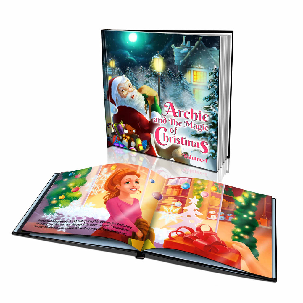 Large Hard Cover Story Book - The Magic of Christmas Volume 1