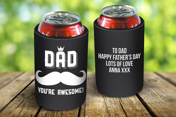 Awesome Dad Stubby Cooler