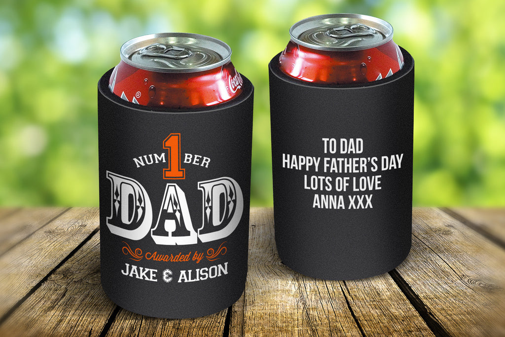 Number 1 Dad Stubby Cooler