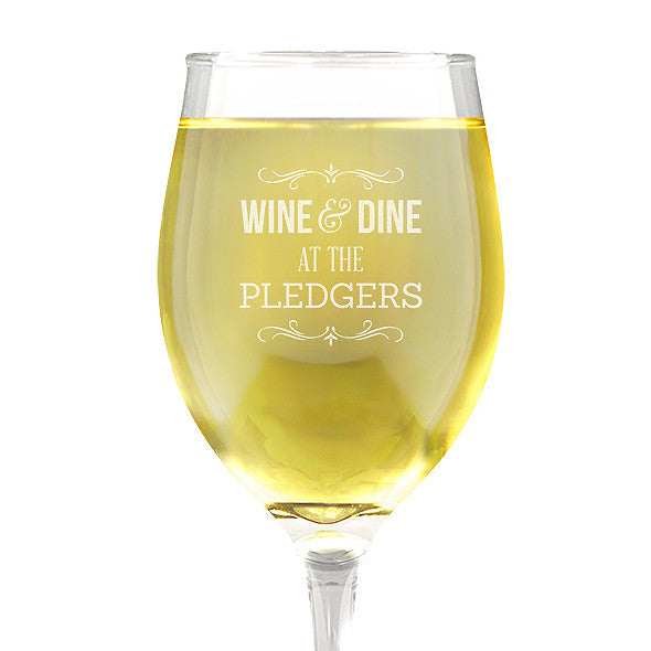 Wine & Dine Design Wine Glass