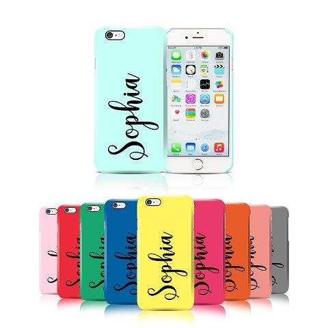 Vertical Name Phone Case - Apple iPhone