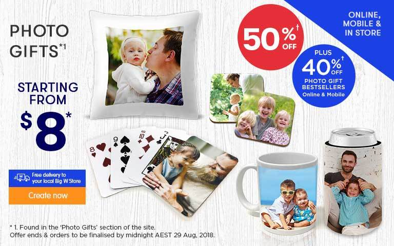 Home - Photo Gifts Offer - ends 29.08.18