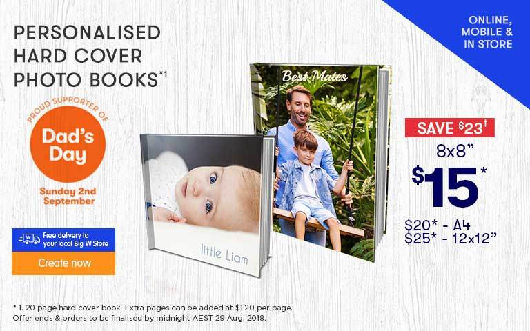 Home - Personalised Hard Cover Photo Books offer - ends 23.05.18