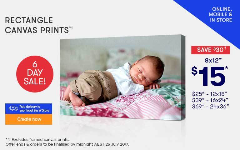 Home - 6 Day Sale Canvas Prints offer - ends 25.07.18