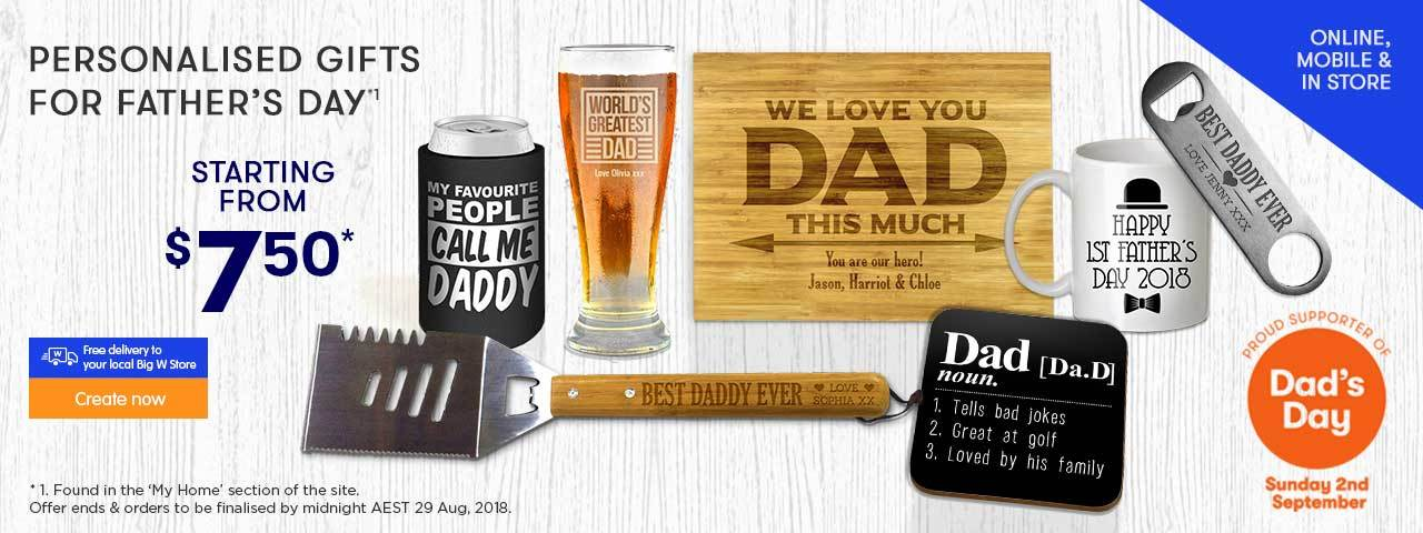 Home - Father's Day Gifts offer - ends 25.08.17