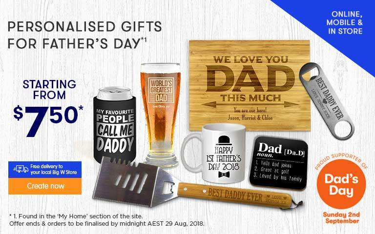 Home Personalised For My Home Offer - ends 30.05.18