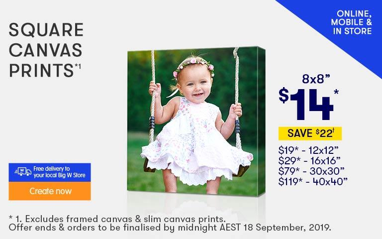 BIG W Photos | Ordering Digital Photo Prints Online – BIGW
